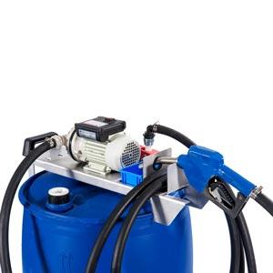097-5701-230 - Drum kit Adblue pomp - Elektrische transferpomp voor Adblue - 230V - 40 L/min - Type 3 - SEC connector - voor vaten