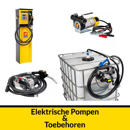elektrische pompen en toebehoren